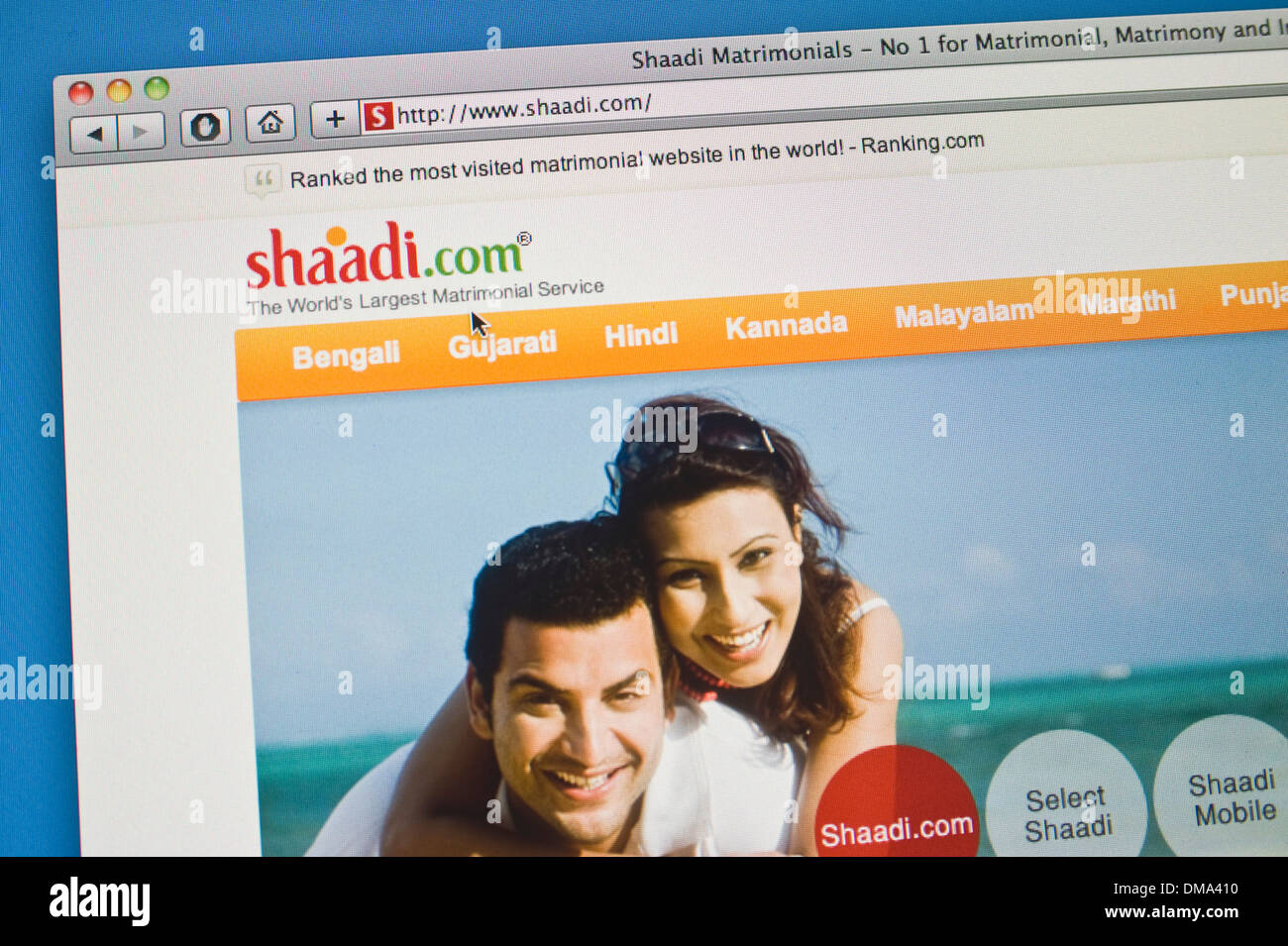 shaadi dating site