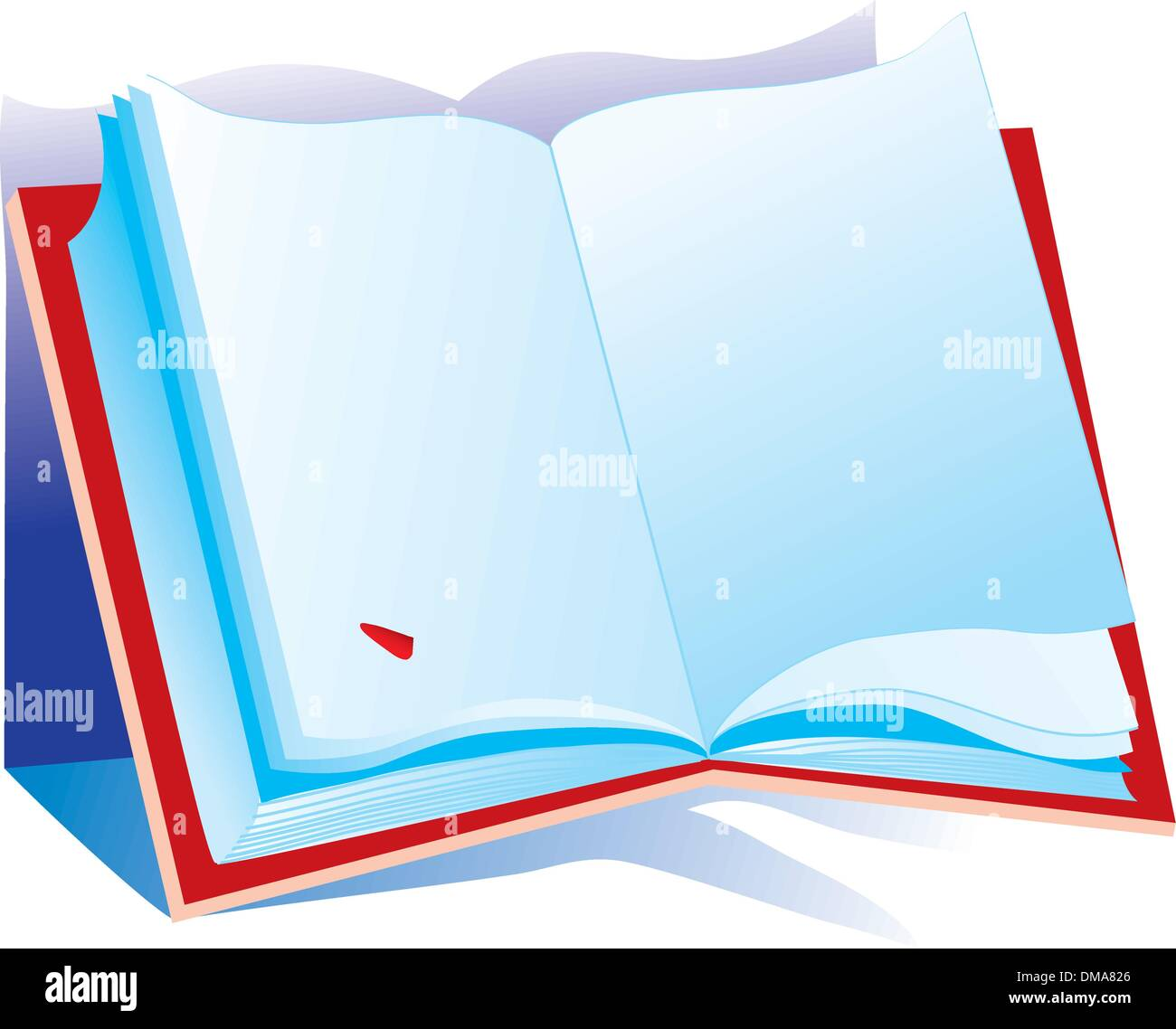The clever book - Stock Vector