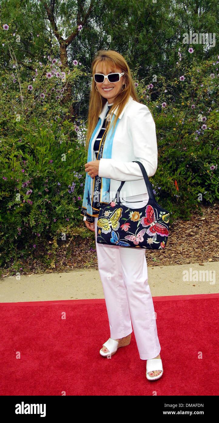 June 3, 2002 - Malibu, CALIFORNIA, USA - JANE SEYMOUR, SHE