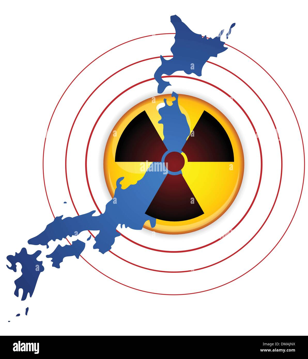Japan Earthquake, Tsunami and Nuclear Disaster 2011 - Stock Image