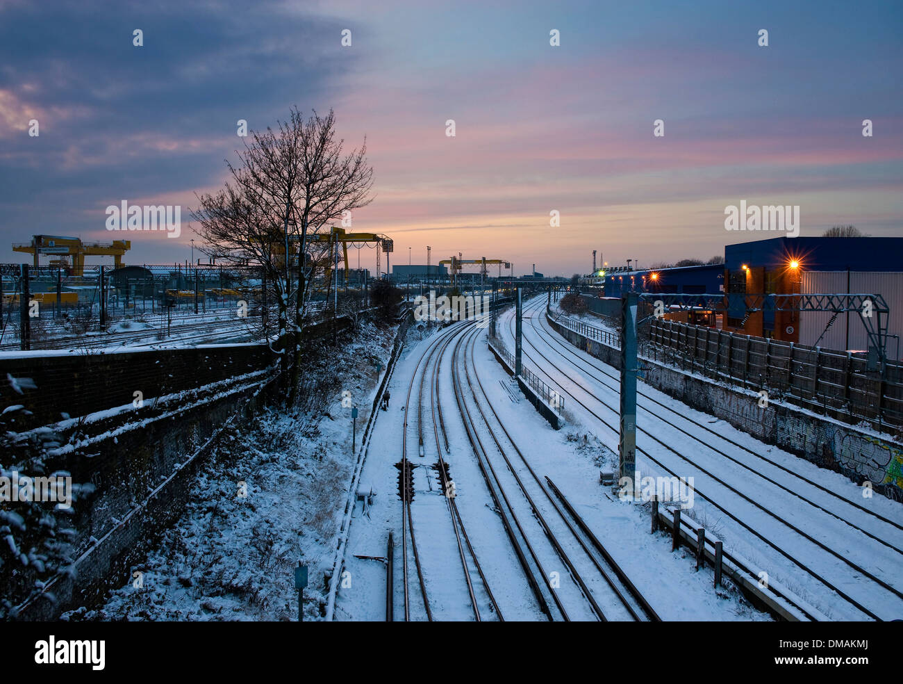 Willesden Junction, North West London, England - Stock Image
