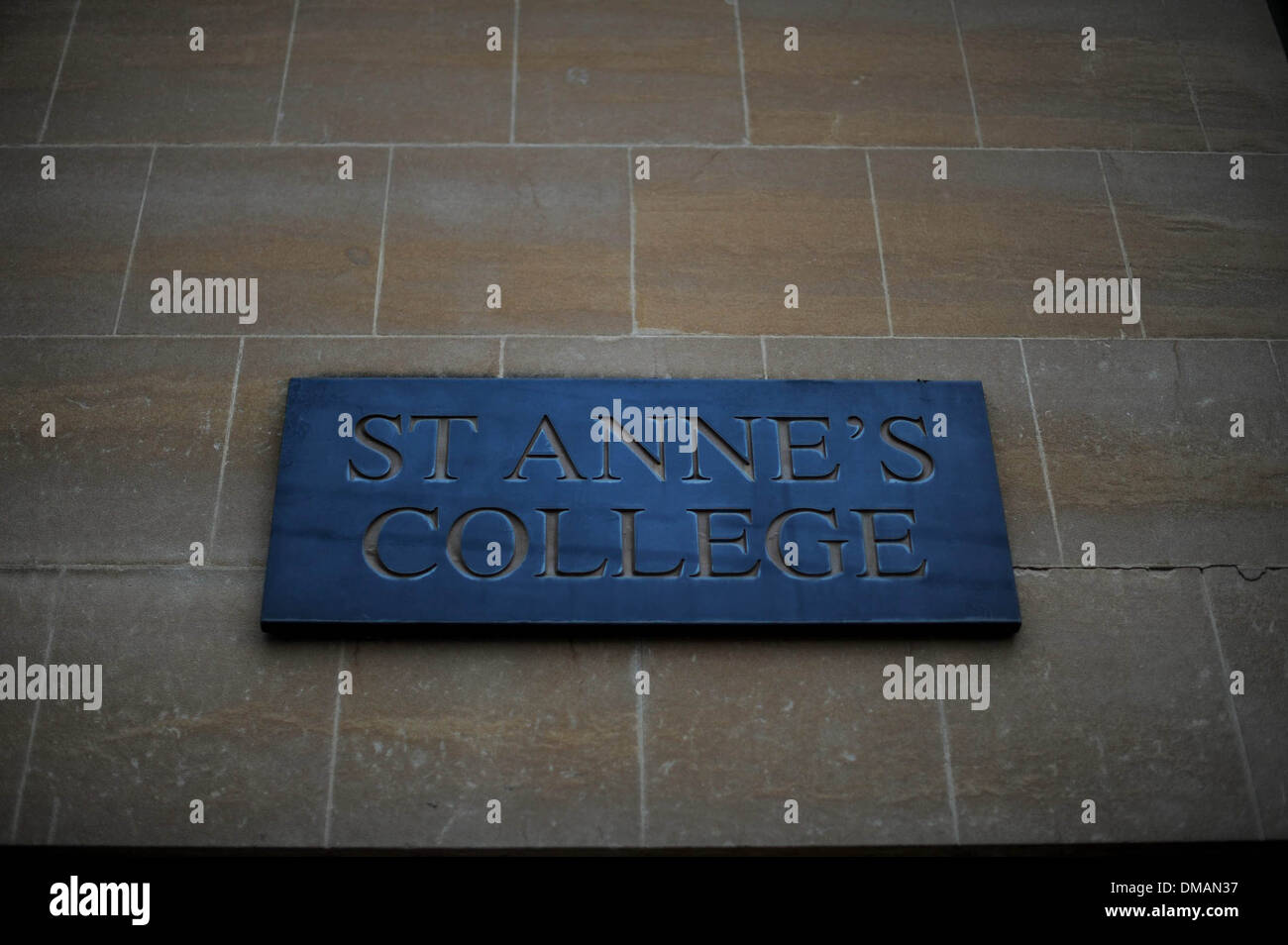 A general View of St Anne's College in Oxford, England. - Stock Image