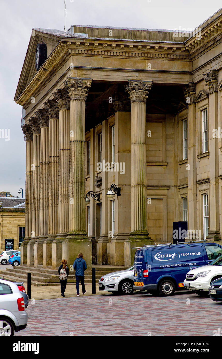 Huddersfield Railway Station, Huddersfield, West Yorkshire. - Stock Image
