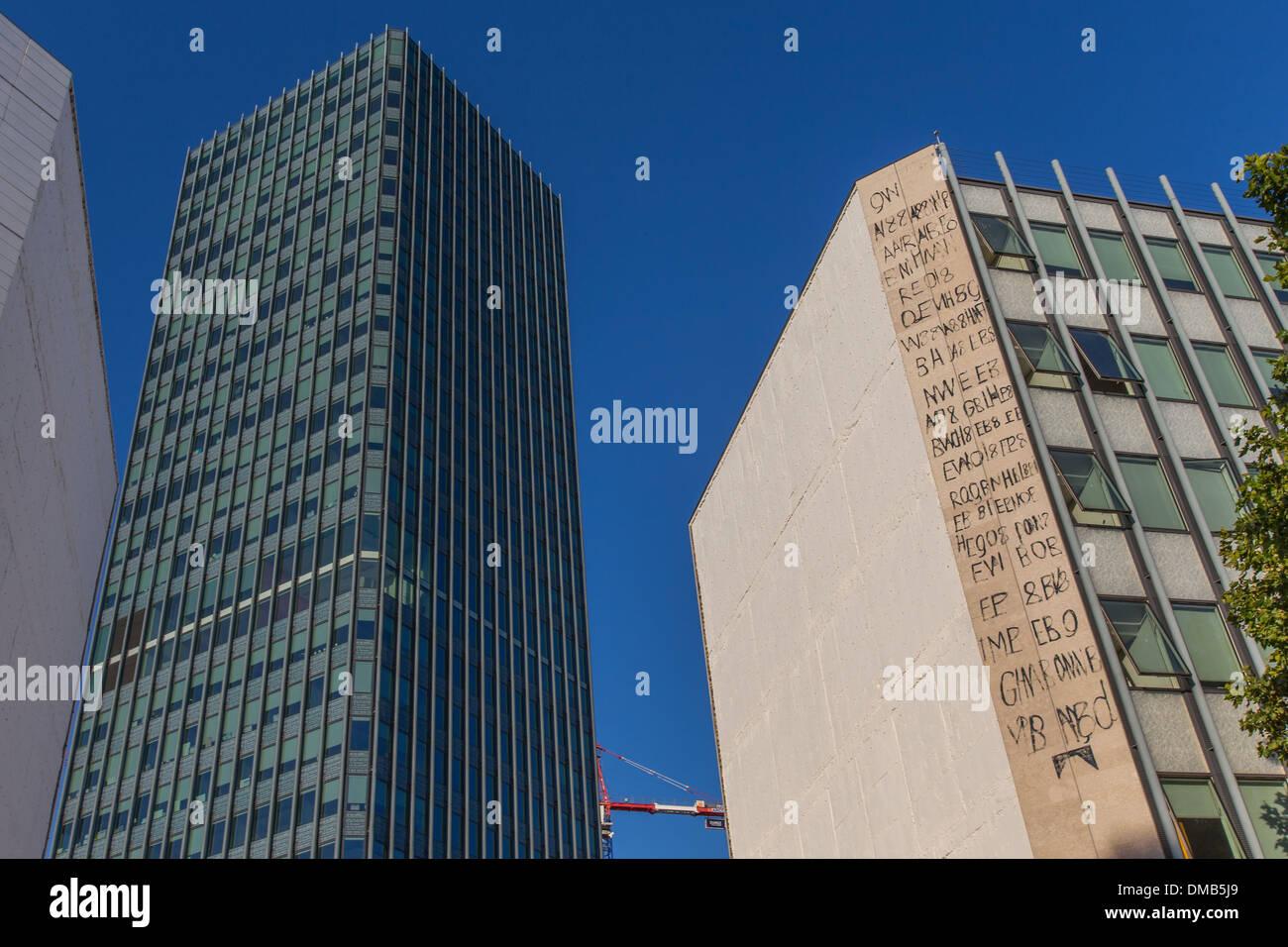 JUSSIEU CAMPUS FOR THE FACULTY OF SCIENCES - Stock Image