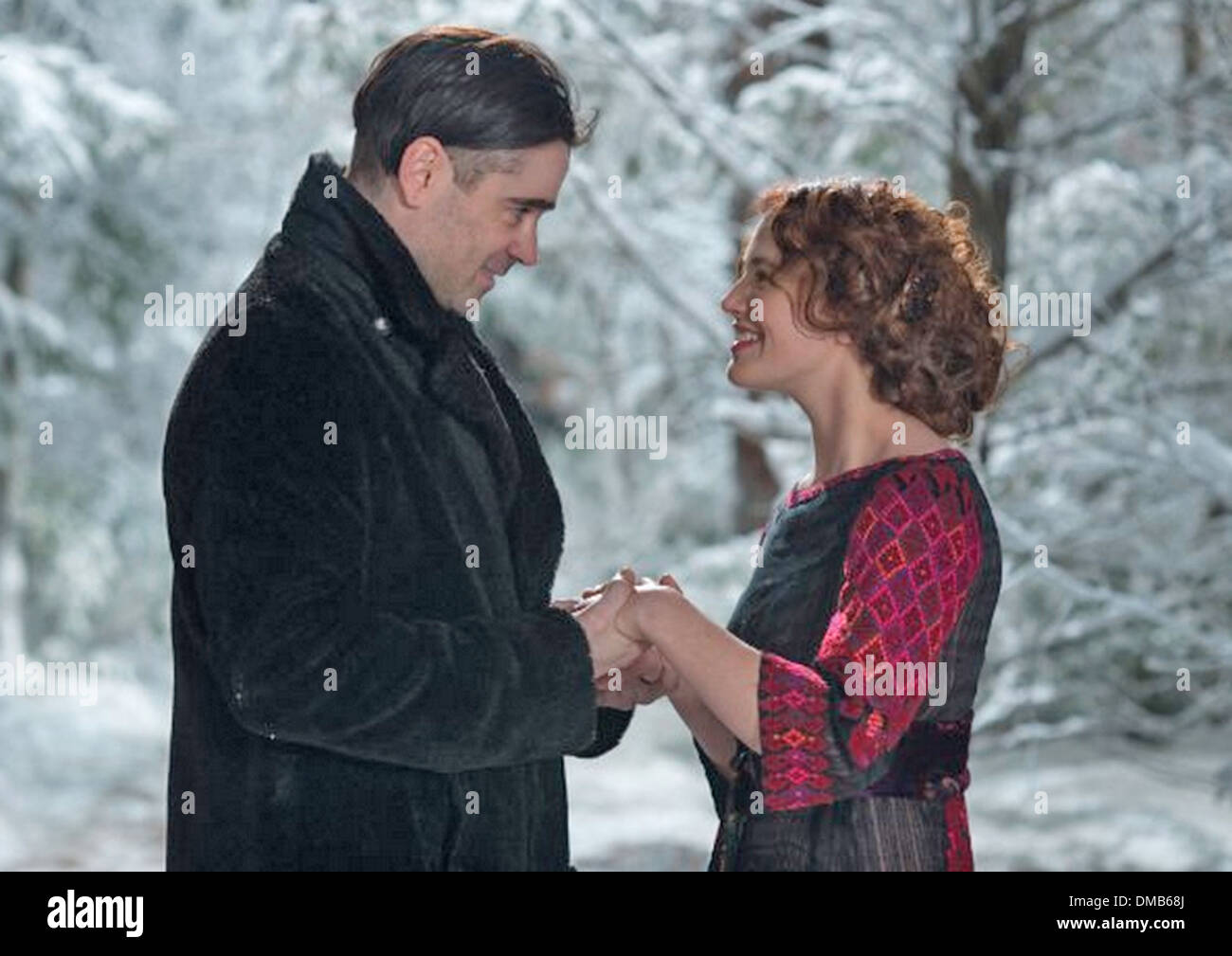 WINTER'S TALE 2014 Village Roadshow/Warner Bros film with Jessica Brown Findlay and Colin Farrell - Stock Image