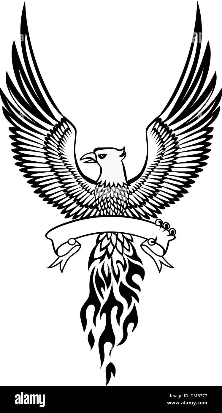 phoenix bird vector stock photos phoenix bird vector stock images