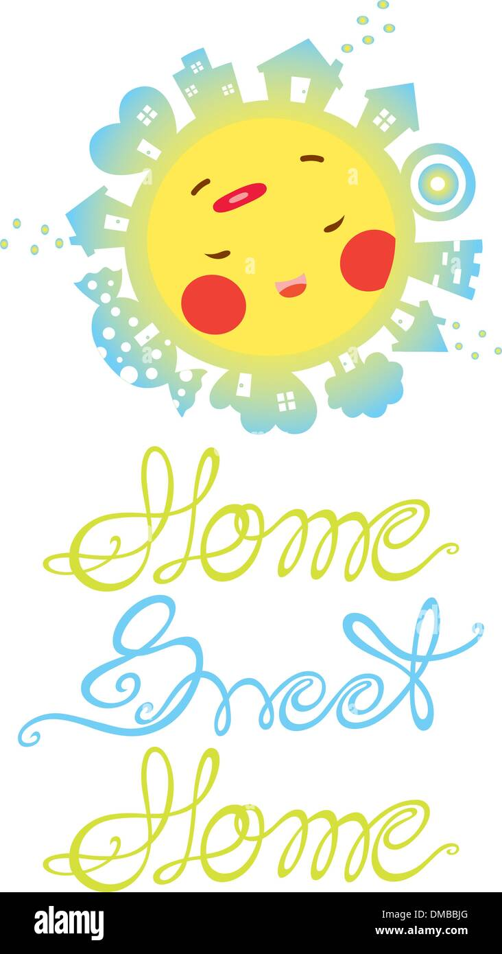 Ace Home Sweet Home - Stock Vector