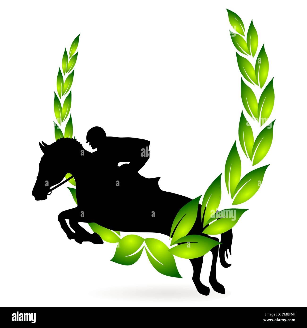 show jumping award - Stock Image