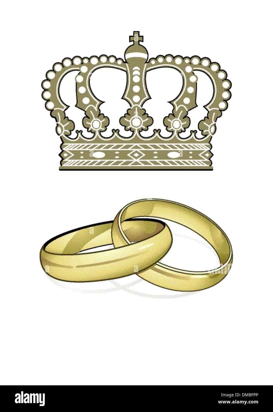 England Marriage - Stock Vector
