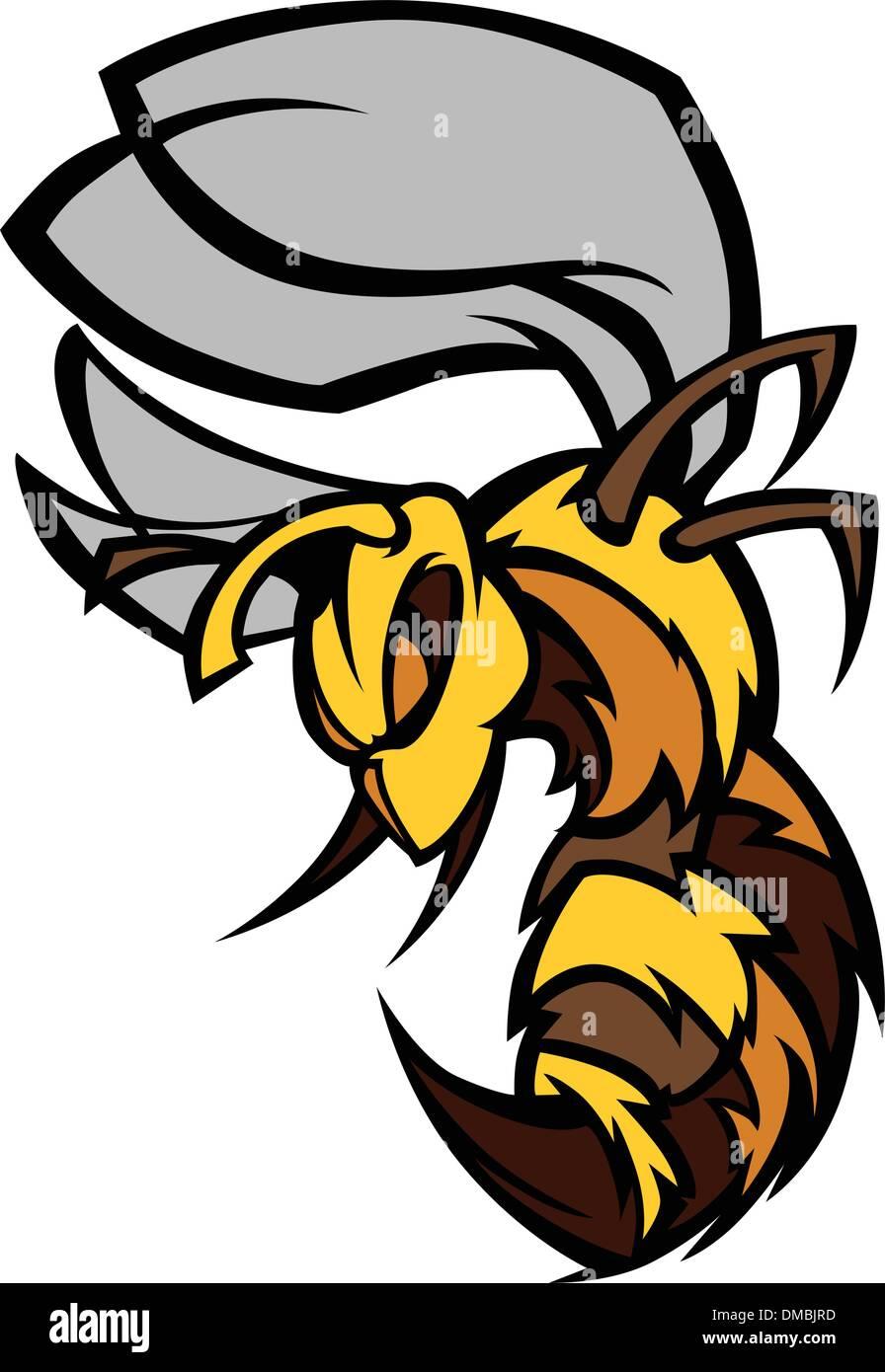bee hornet graphic vector illustration stock vector art rh alamy com