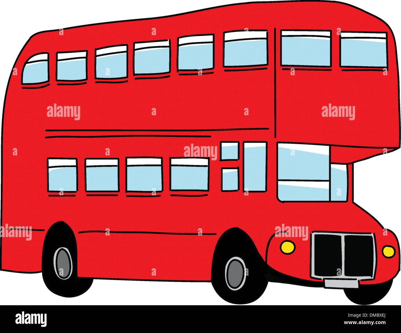 London bus - Stock Image
