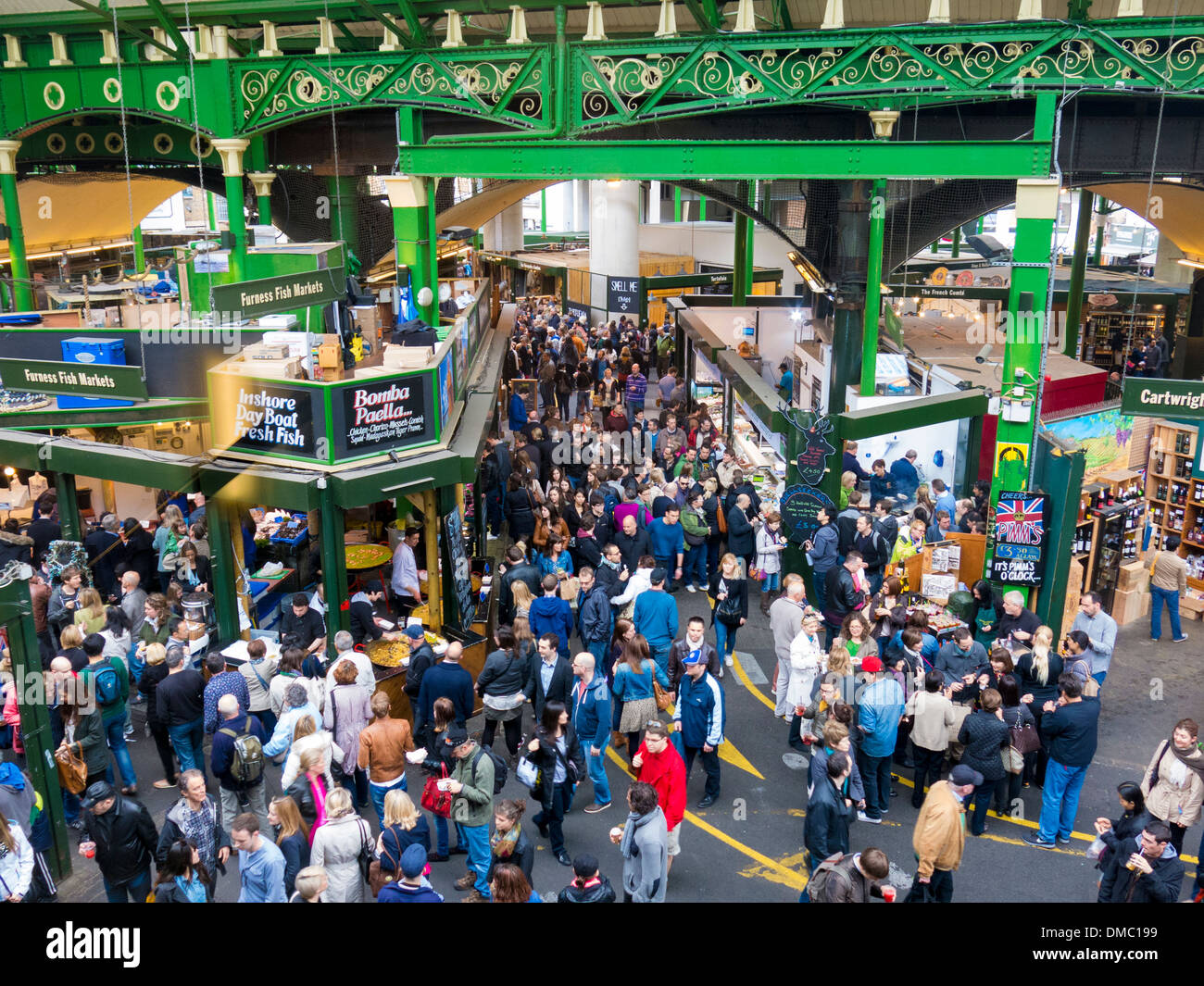 Borough Market, London, England, UK - Stock Image