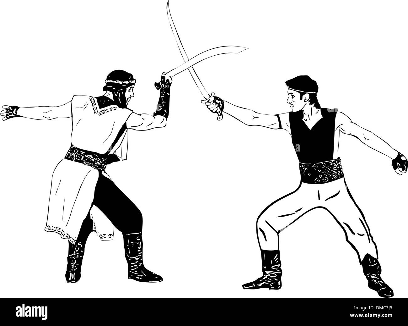 Warriors - Stock Image