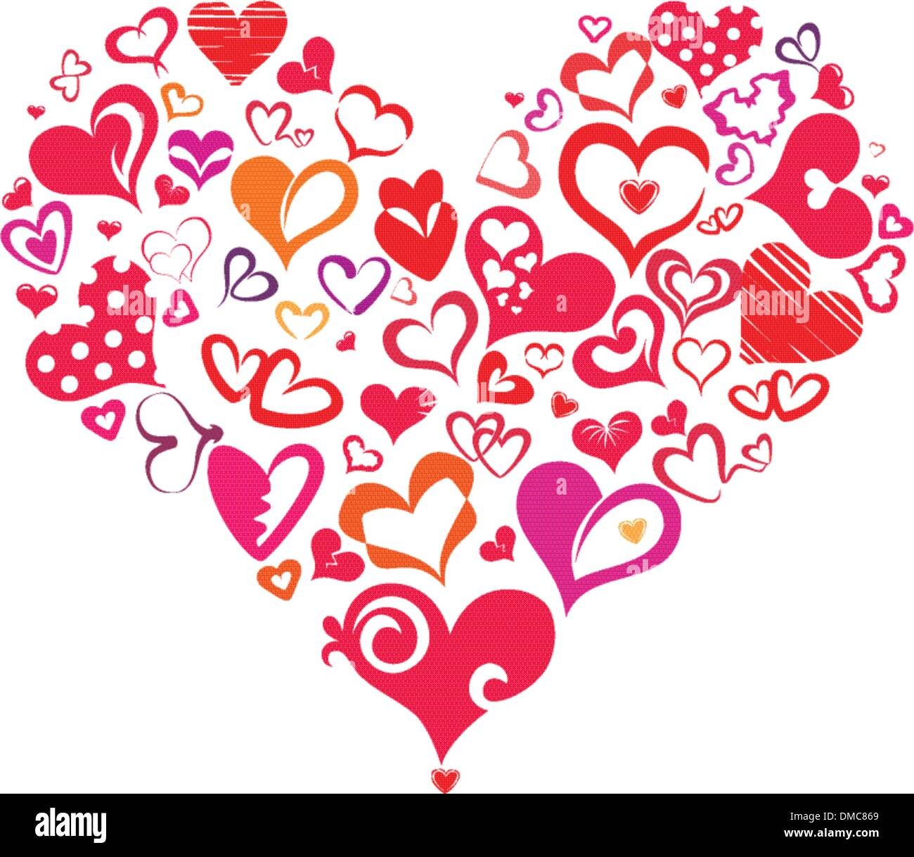 Heart Symbols Stock Vector Images Alamy