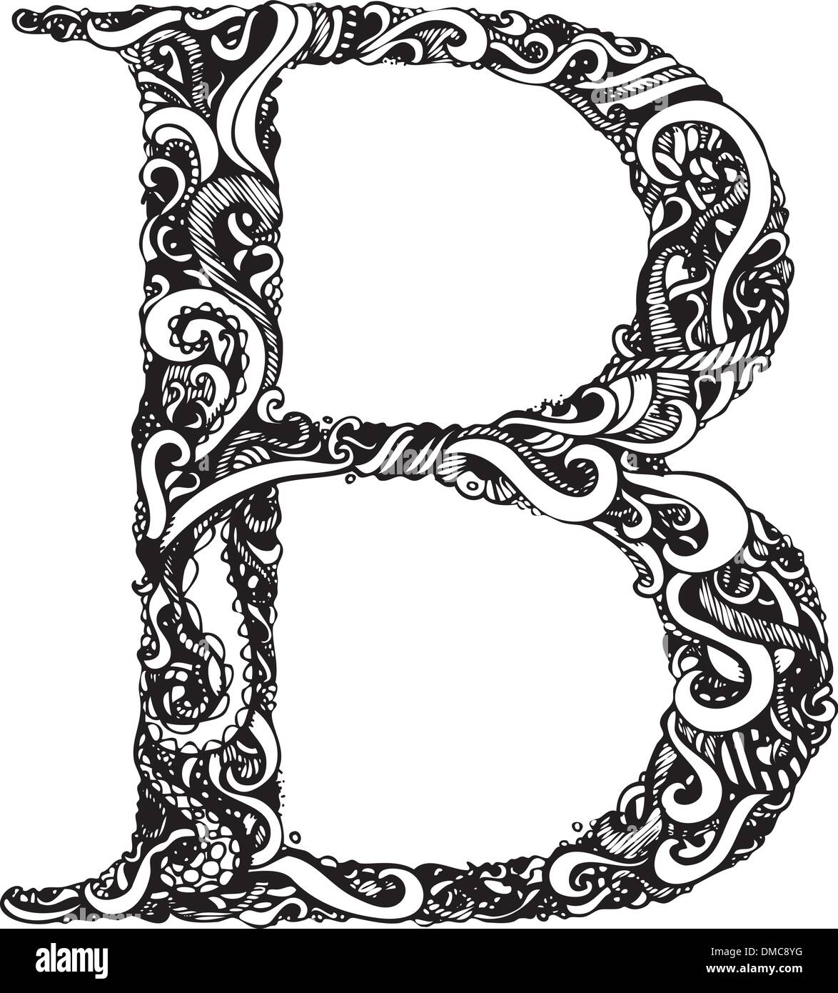 decorative letter b decorative capital letter stock photos amp decorative 21329 | capital letter b elegant vintage swirly style DMC8YG