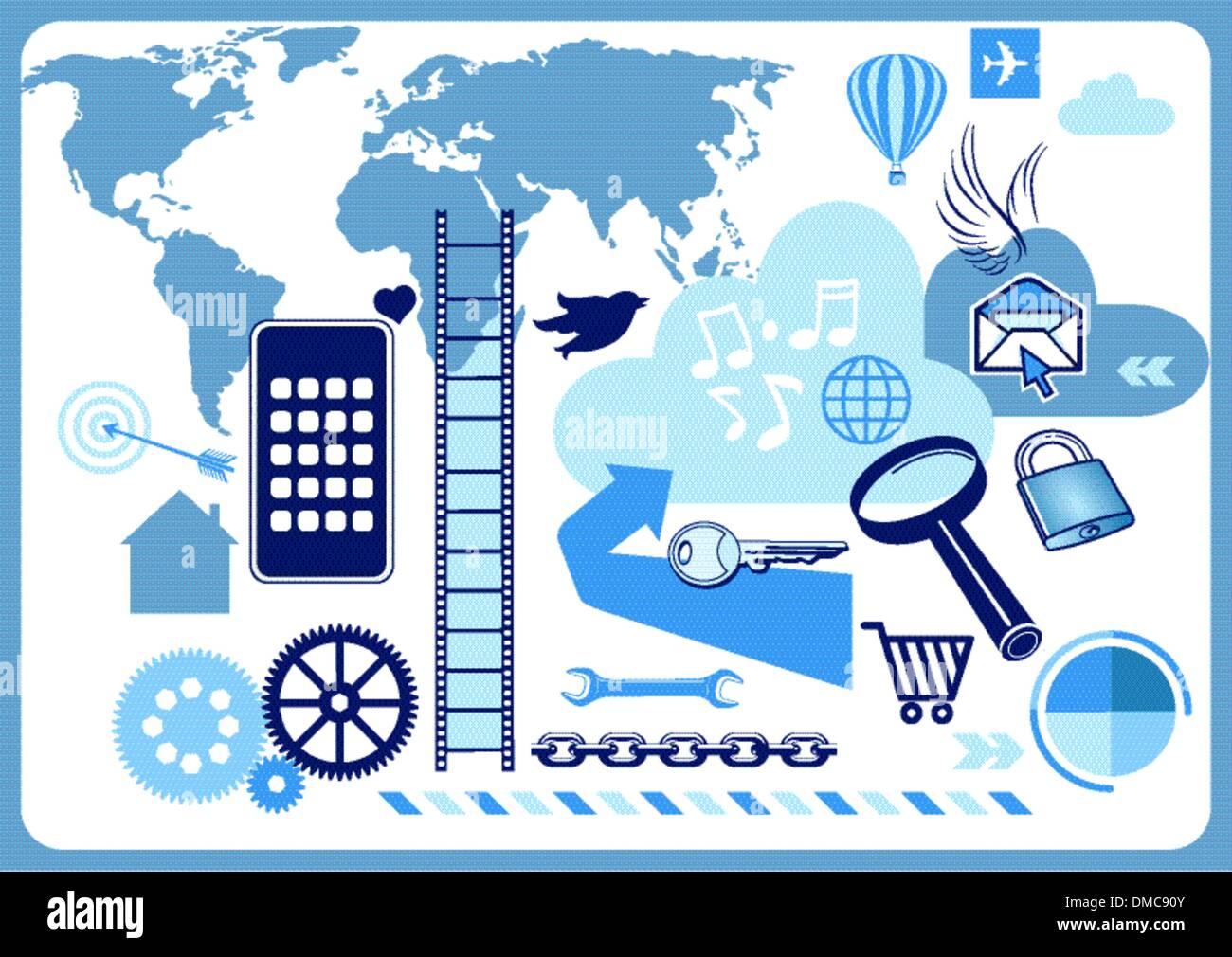 Web navigation - Stock Image