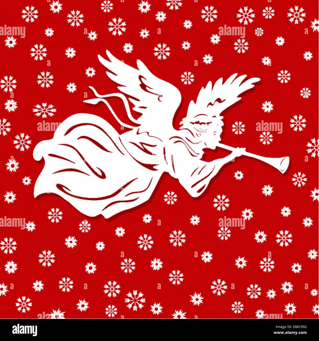 Christmas Angels - Stock Image