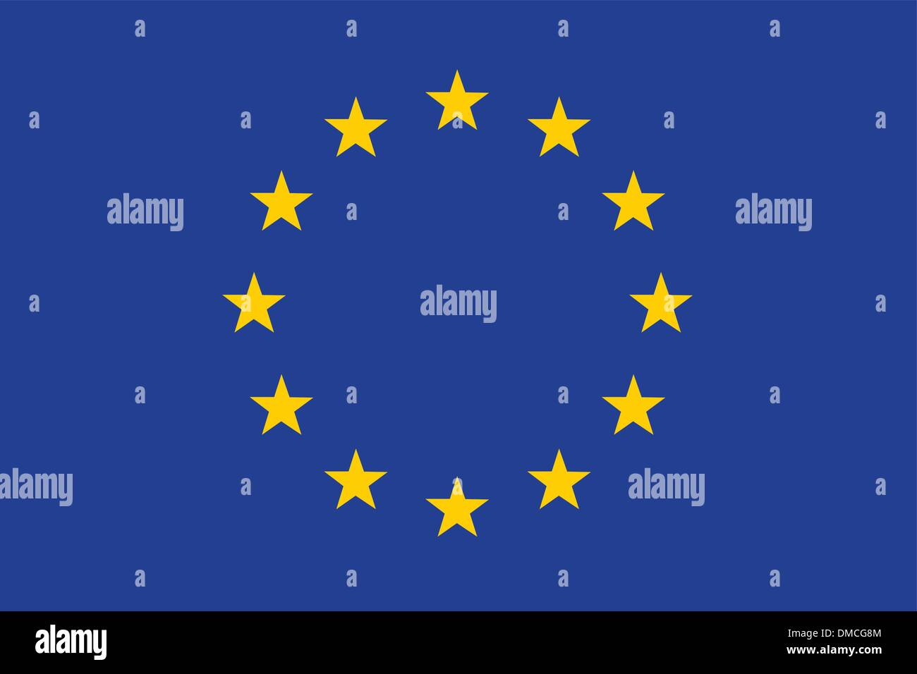 Flag of European Union - Stock Vector