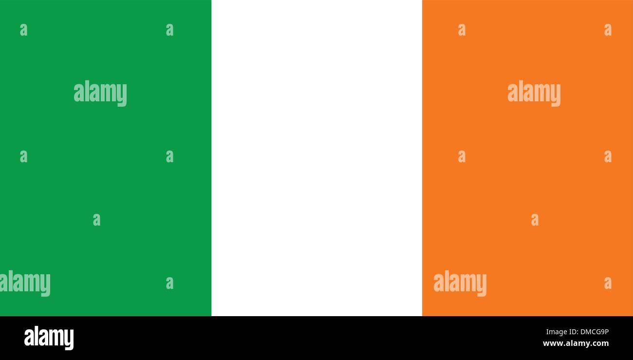 Flag of Ireland - Stock Vector