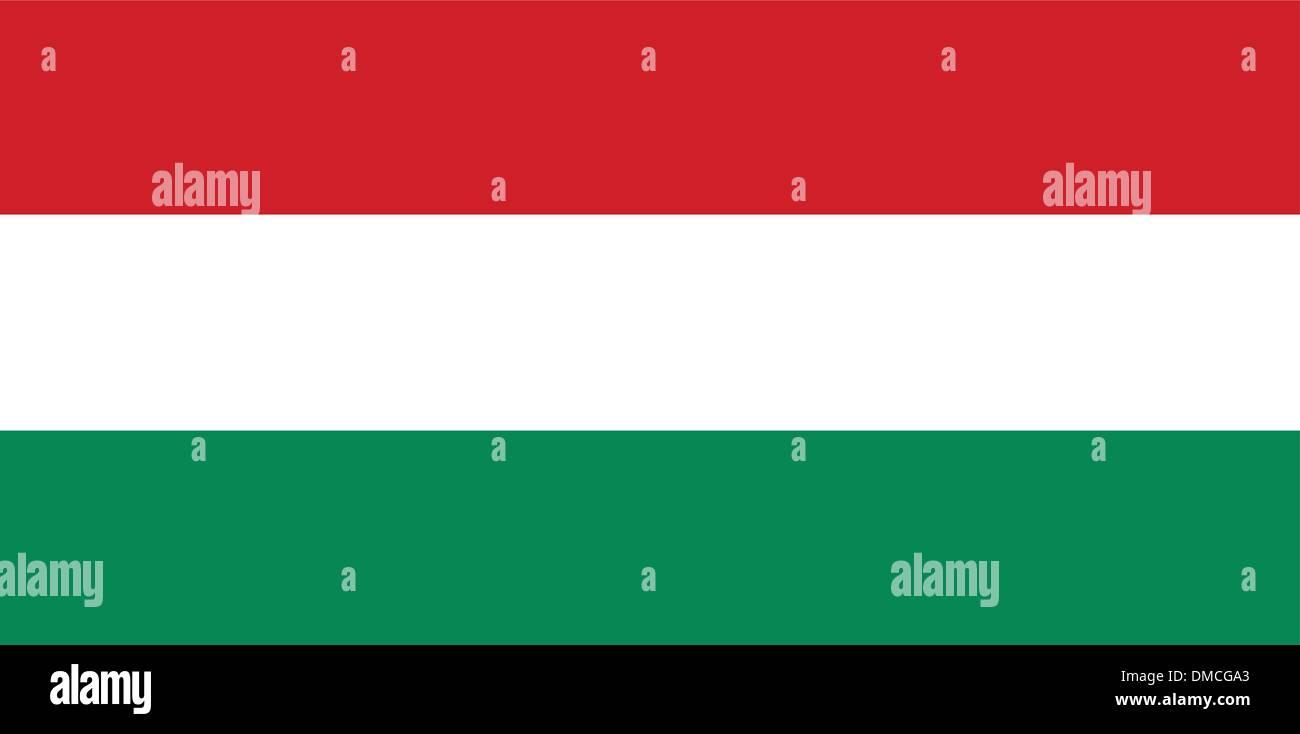 Flag of Hungary - Stock Vector