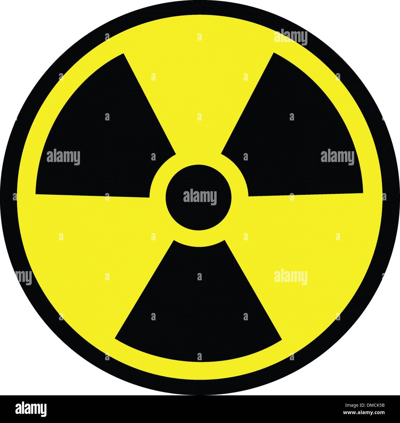 Radiation danger - Stock Vector