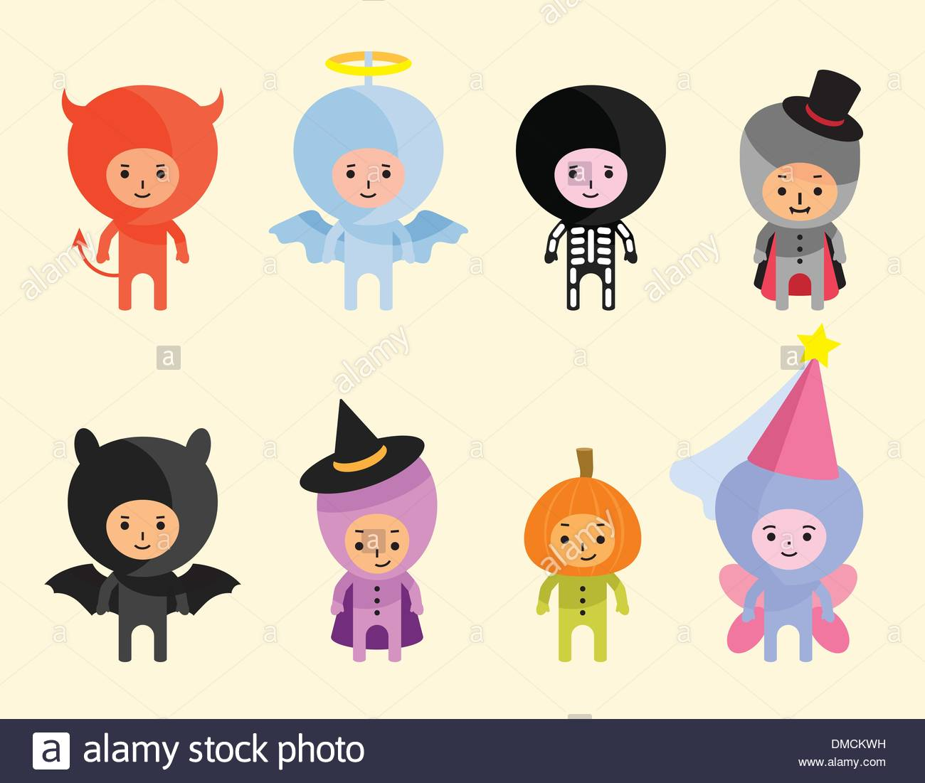 Halloween costumes - Stock Image
