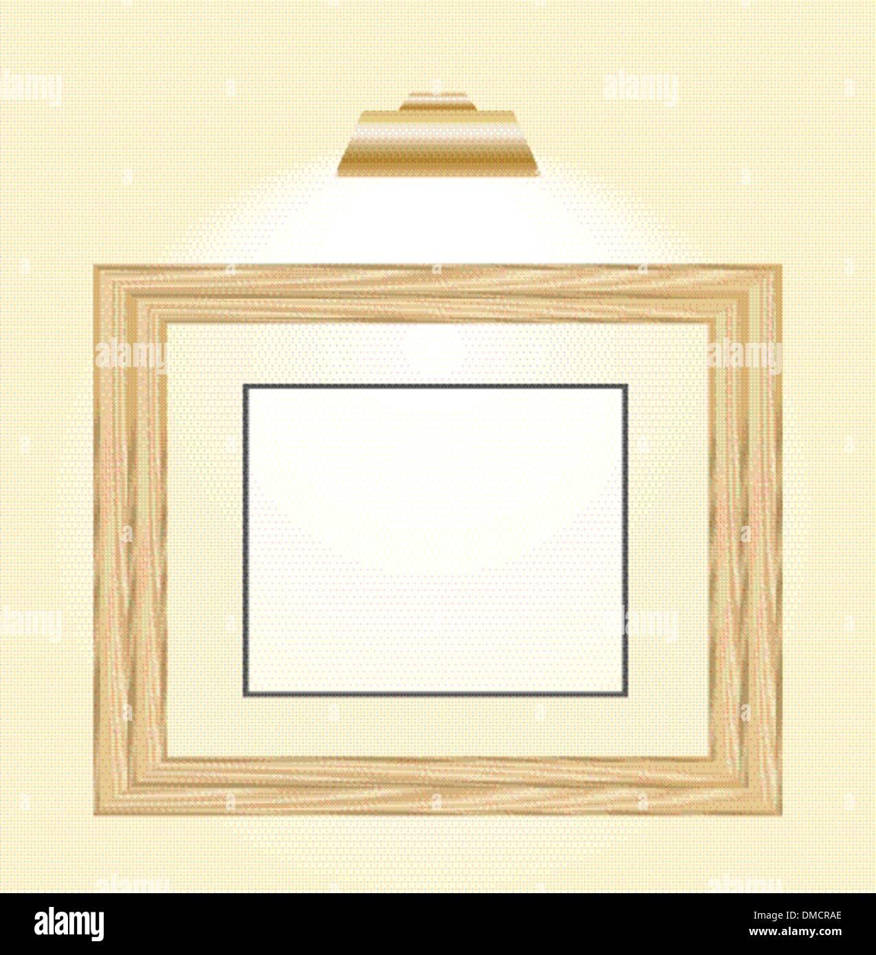 Photo Frame Wooden Horizontal Stock Photos & Photo Frame Wooden ...