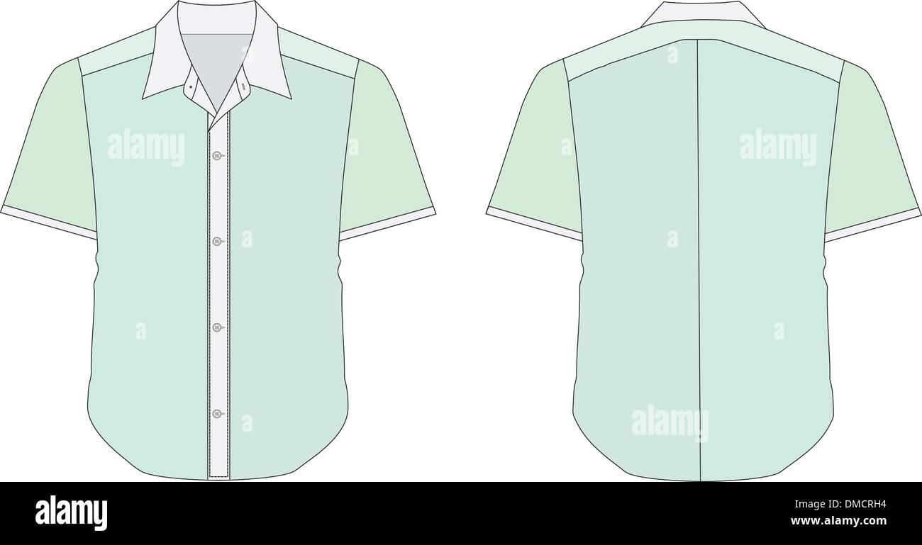 Green Collared Shirt Stock Photos Green Collared Shirt Stock