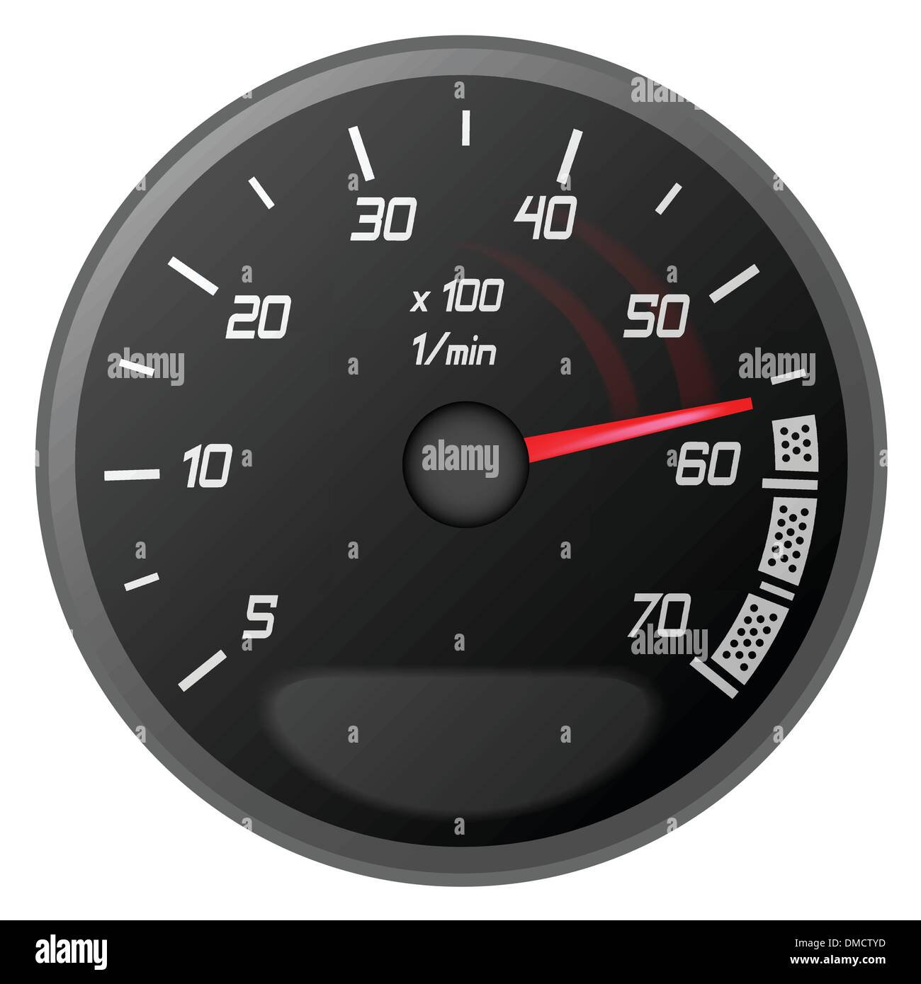 car temperature controller - Stock Image