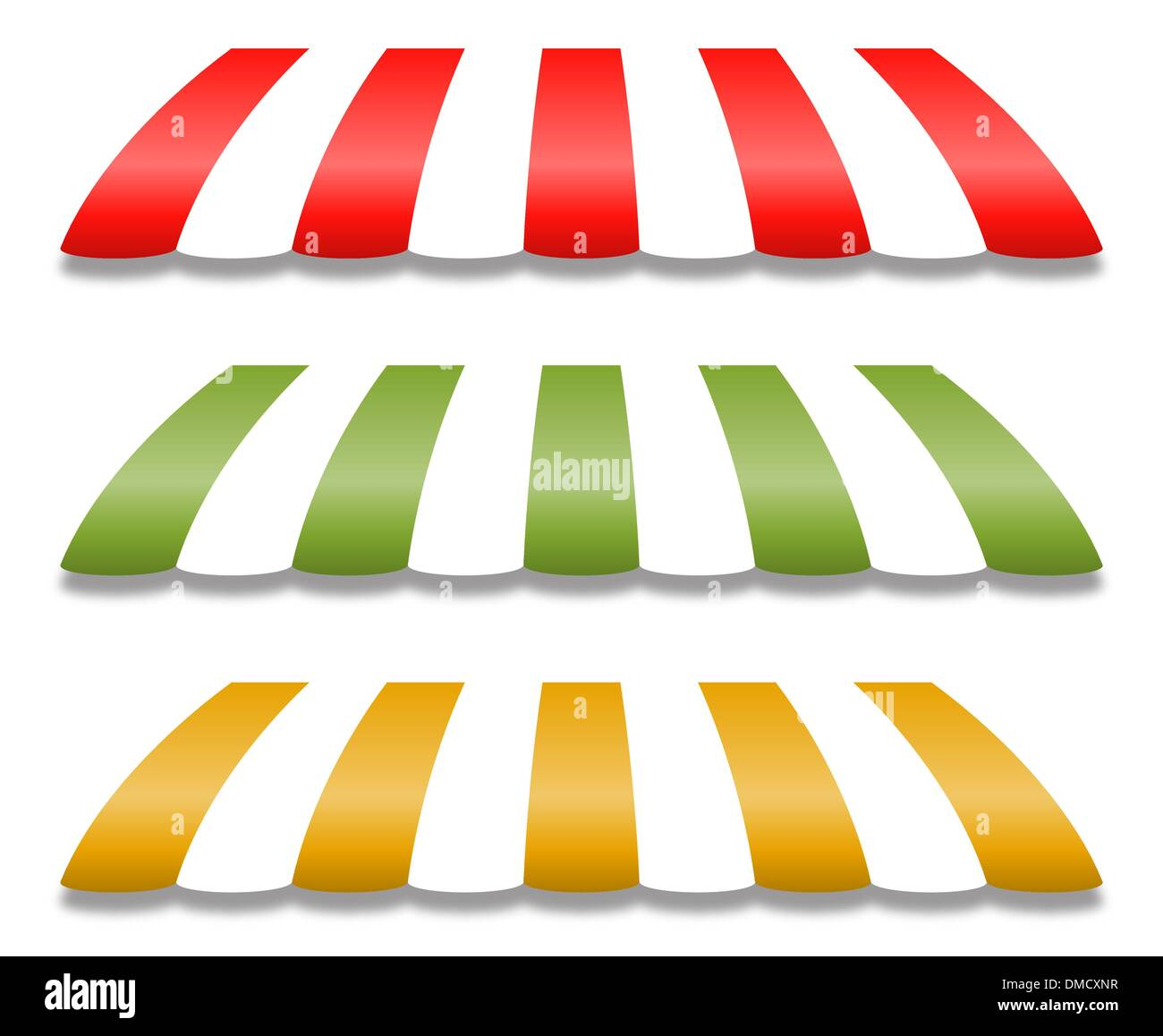 Striped Awnings Stock Photos & Striped Awnings Stock Images - Alamy