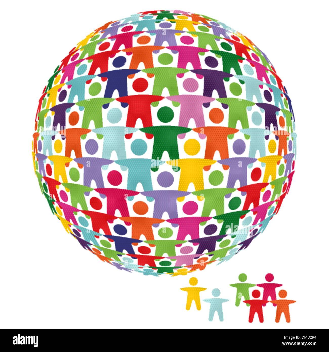 Partnership and solidarity - Stock Image