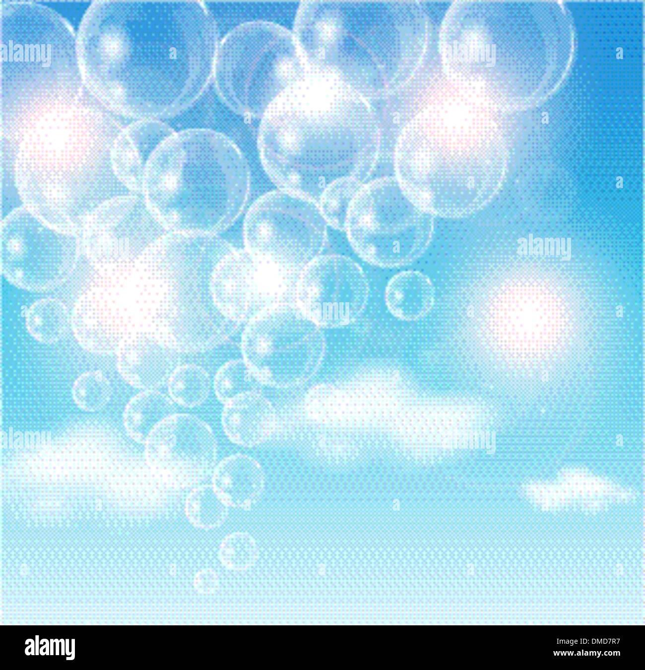 Air Bubble - Stock Vector