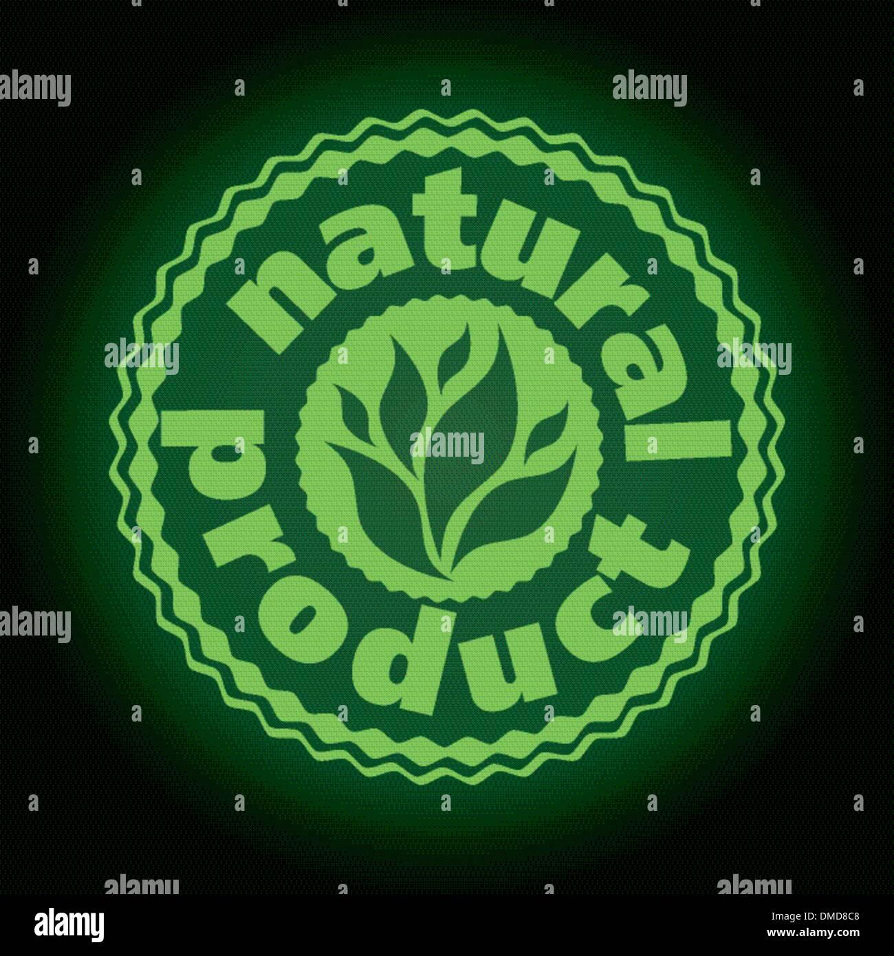 logo printing brand natures product - Stock Image