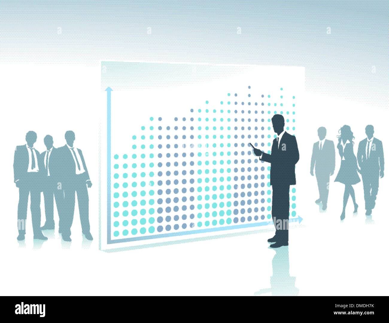 Record success - Stock Image