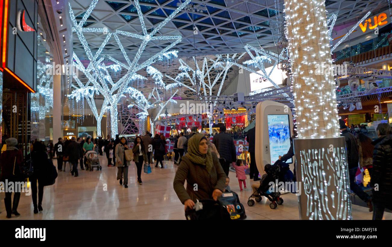 Westfield Shopping Mall in Shepherd's Bush West London England UK  KATHY DEWITT Stock Photo