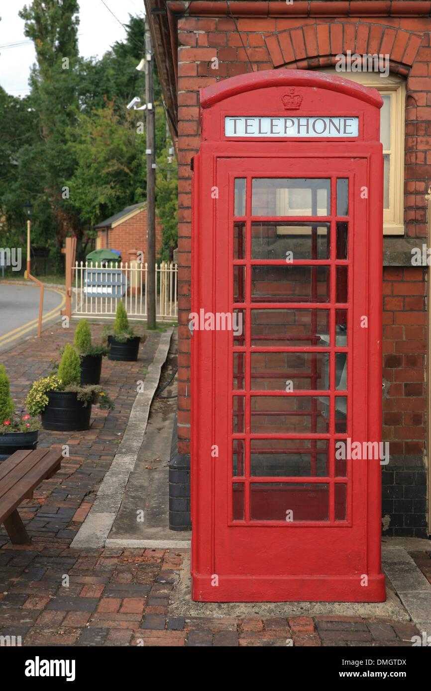 telephone kiosk - Stock Image