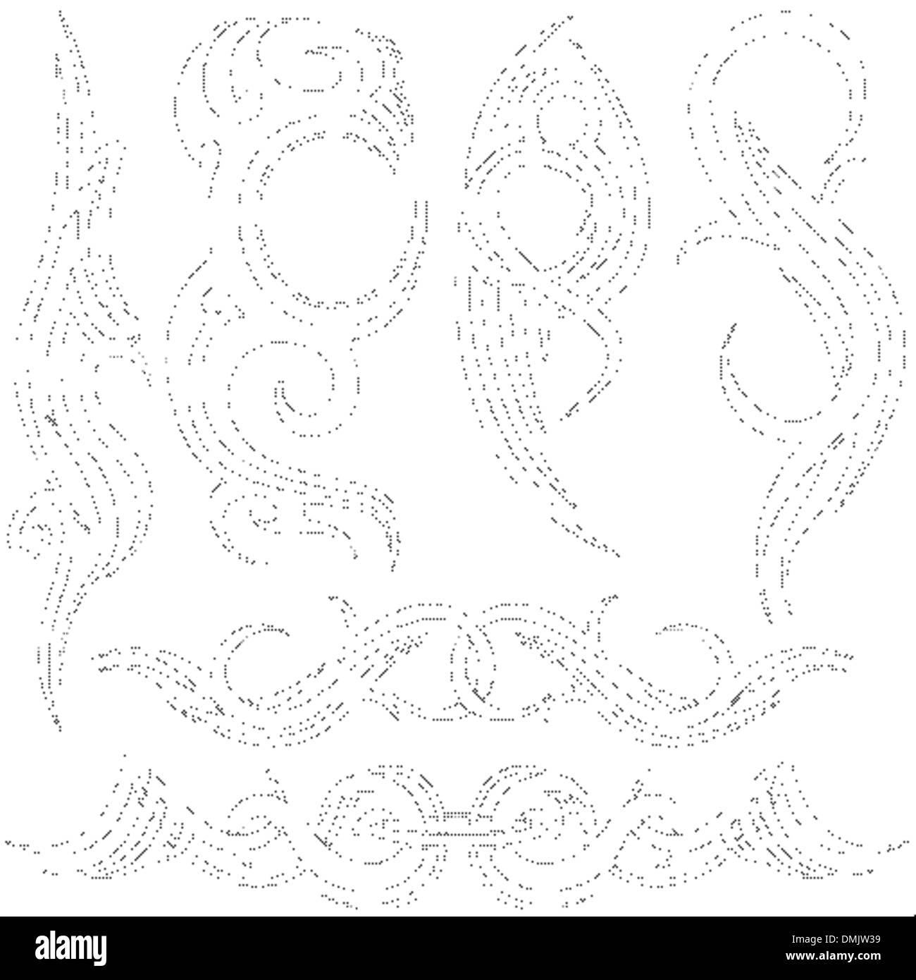 Tribal Tattoos Stock Vector Art & Illustration, Vector Image