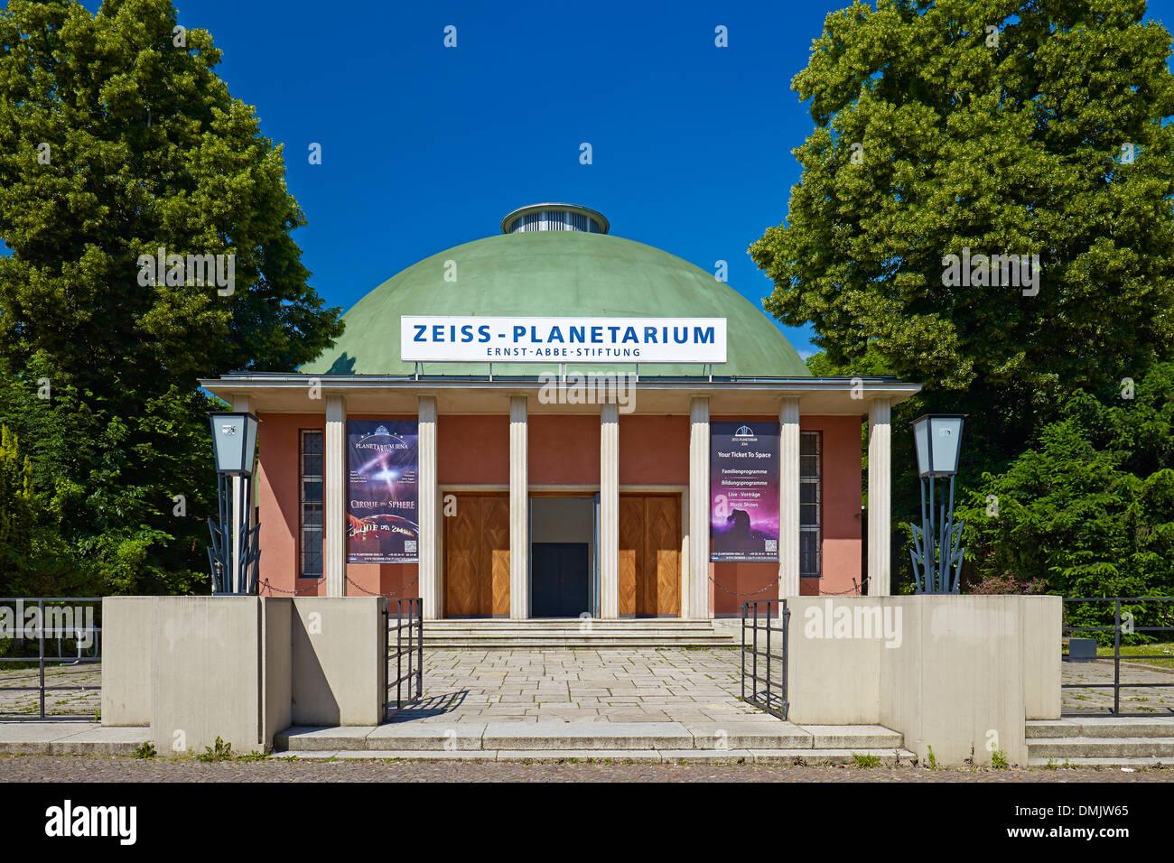 Zeiss Planetarium in Jena, Thuringia, Germany - Stock Image