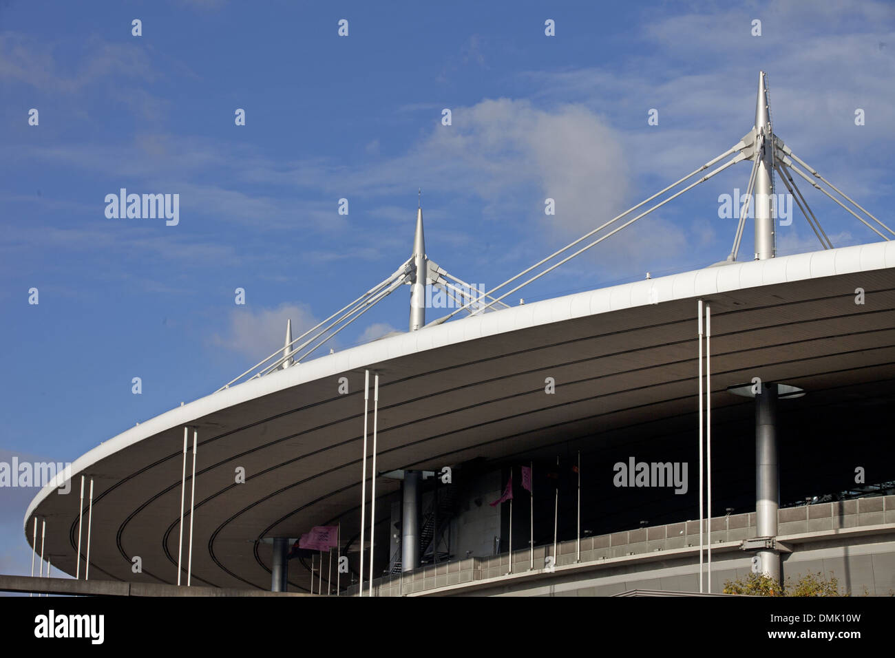 STADE DE FRANCE, THE BIGGEST STADIUM IN FRANCE, BUILT BETWEEN 1995 AND 1998 TO MEET THE NEEDS OF THE SOCCER WORLD CUP, LA PLAINE SAINT-DENIS QUARTER, SAINT-DENIS, SEINE-SAINT-DENIS (93), FRANCE - Stock Image
