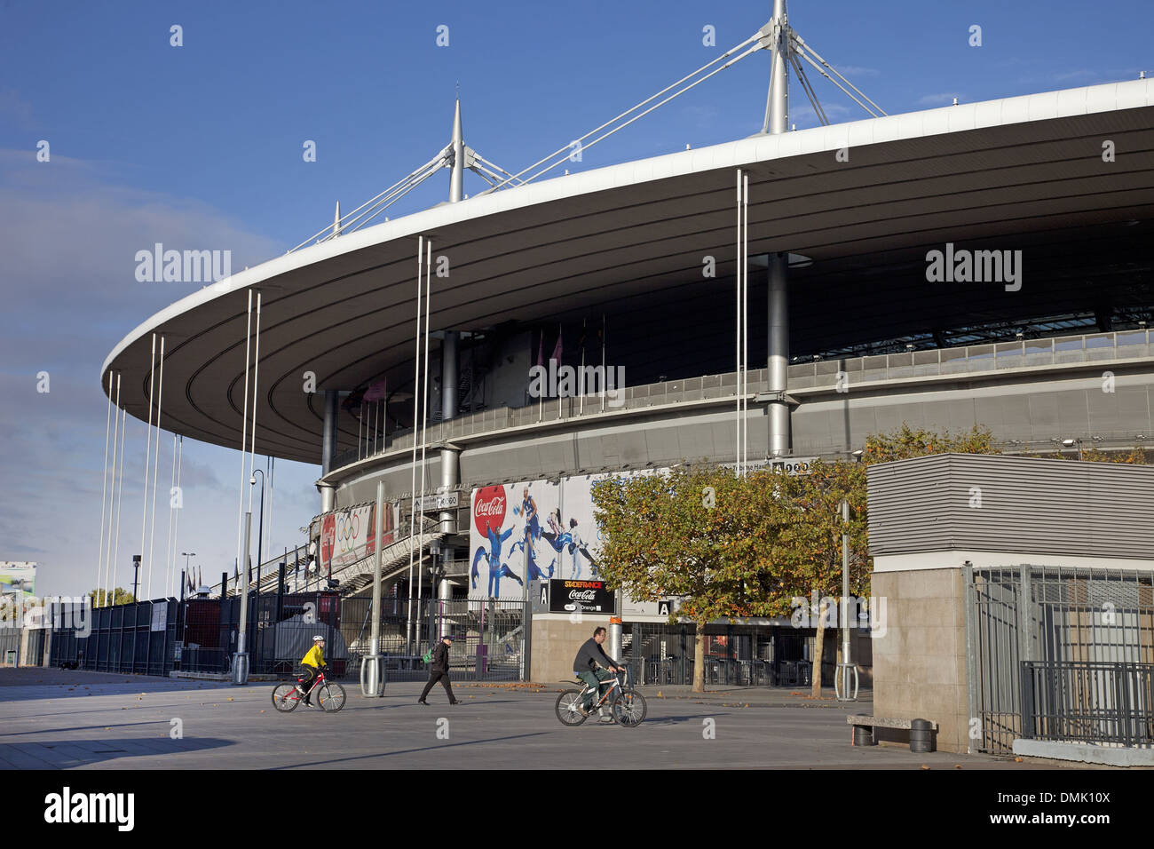 STADE DE FRANCE, THE BIGGEST STADIUM IN FRANCE, BUILT BETWEEN 1995 AND 1998 TO MEET THE NEEDS OF THE SOCCER WORLD Stock Photo