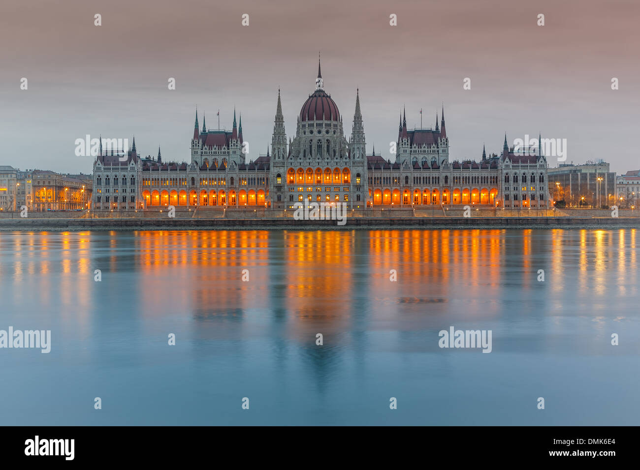 Parliament building, Budapest - Stock Image