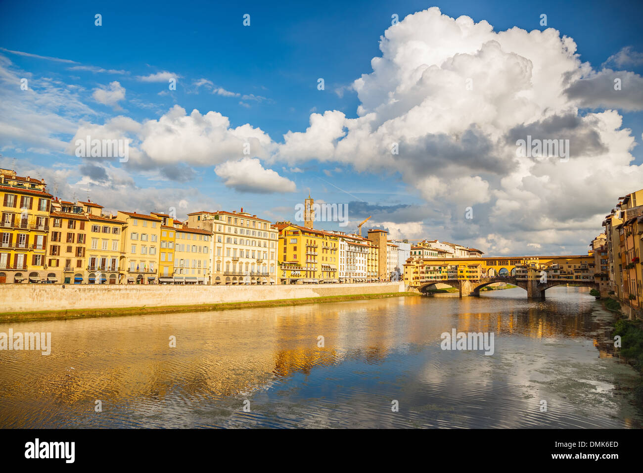 Arno river in Florence - Stock Image