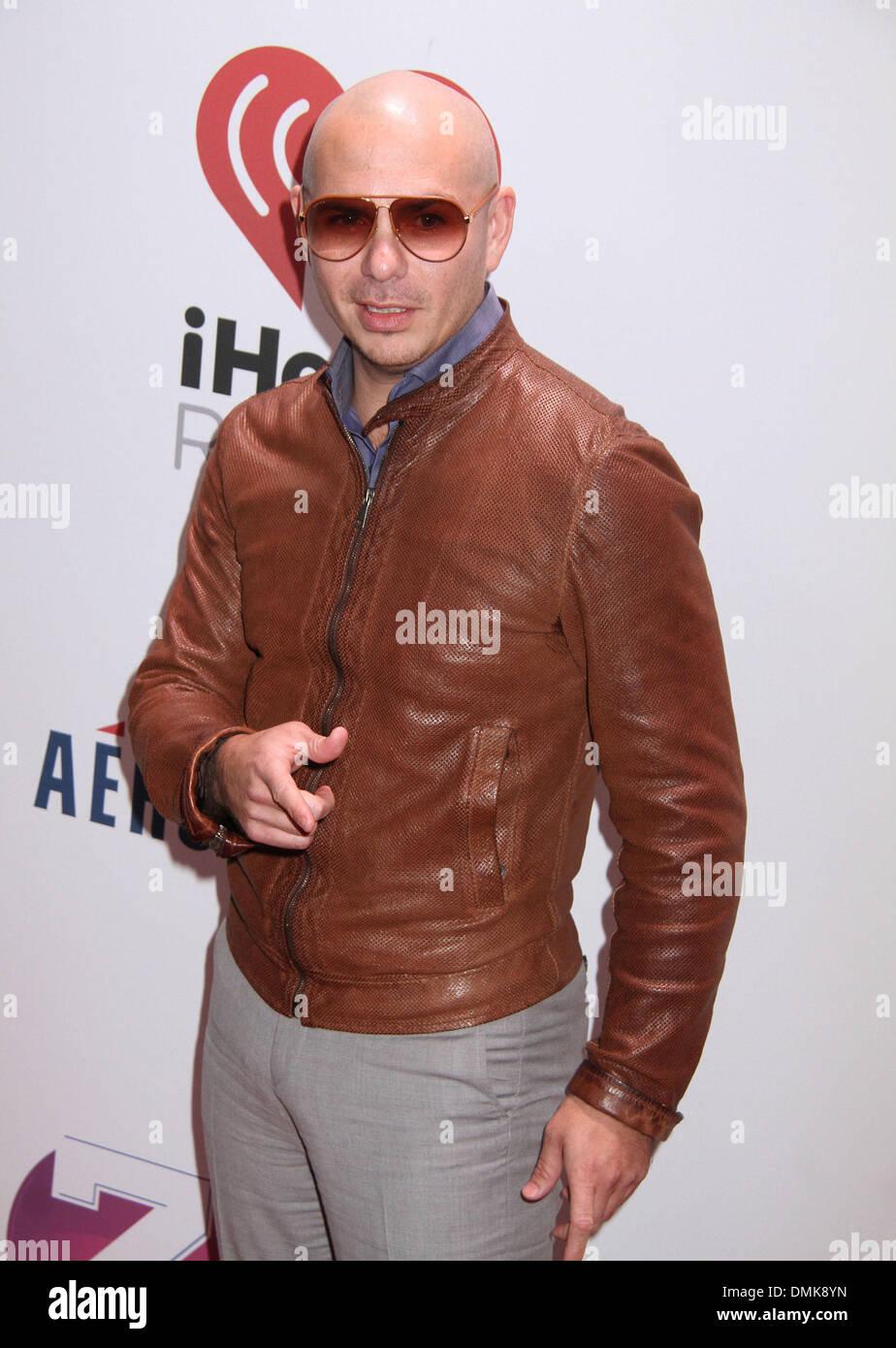 Dec 13 2013 New York New York Us Singer Pitbull Attends