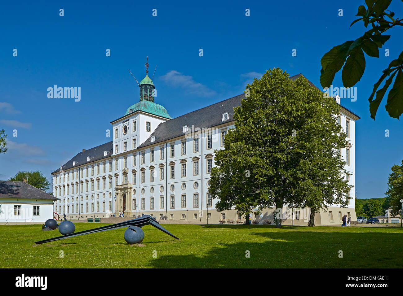 Gottorp Castle, Schleswig, Schleswig-Flensburg District, Schleswig-Holstein, Germany - Stock Image