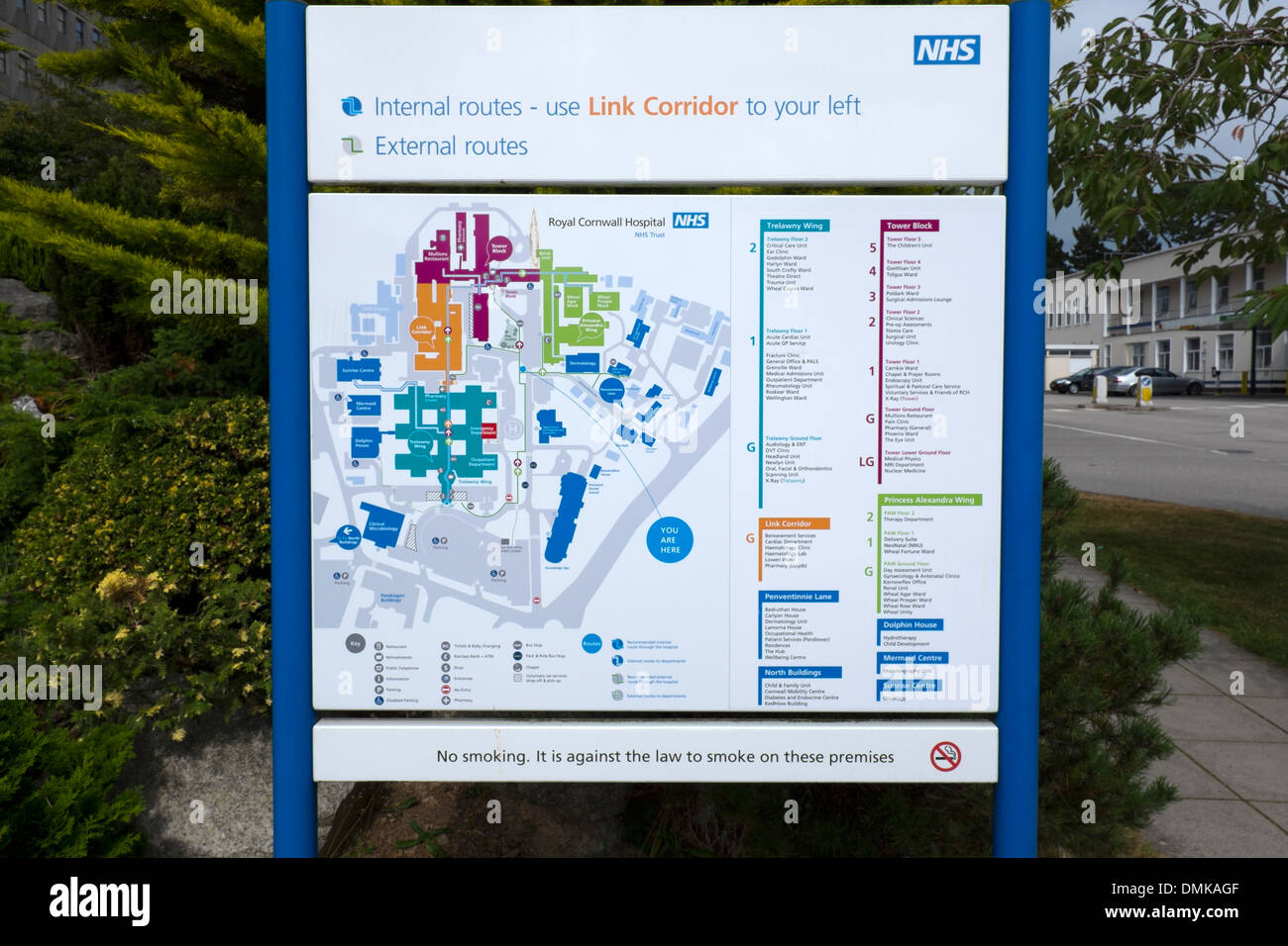 Royal Shrewsbury Hospital Map Hospital Map Stock Photos & Hospital Map Stock Images   Alamy