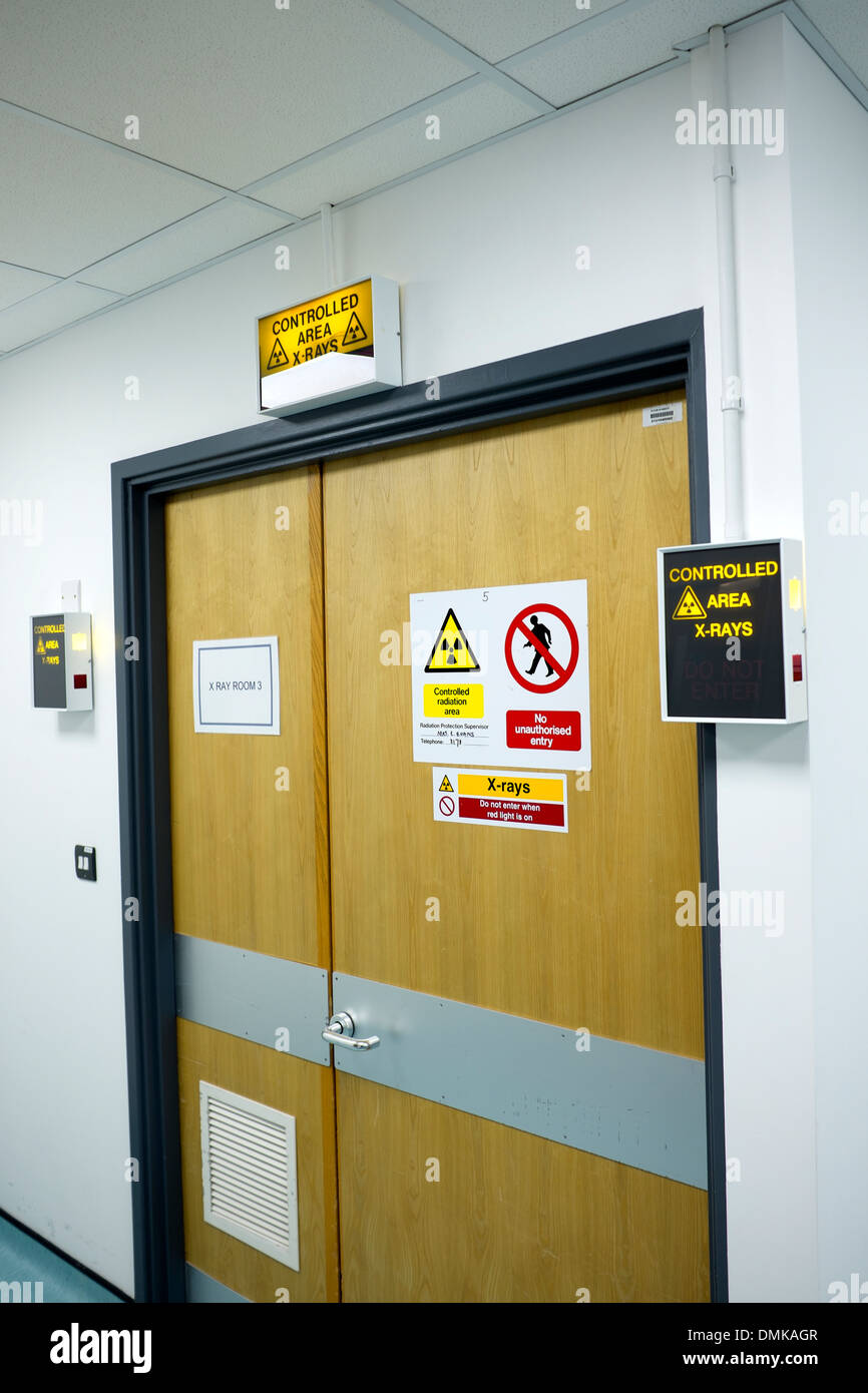 X Ray Room In Hospital