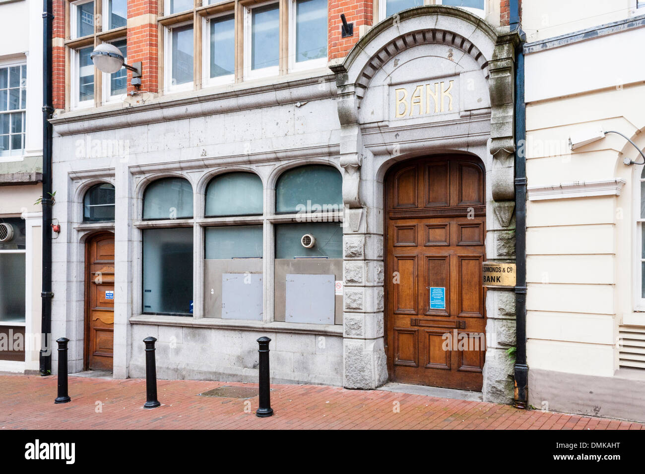 Former branch of Barclays Bank, Reading, Berkshire, England, GB, UK. - Stock Image