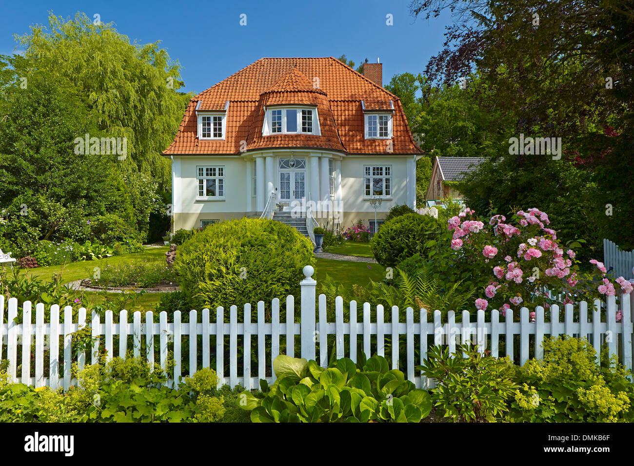 Villa in Schleswig, Schleswig-Flensburg District , Schleswig-Holstein, Germany - Stock Image