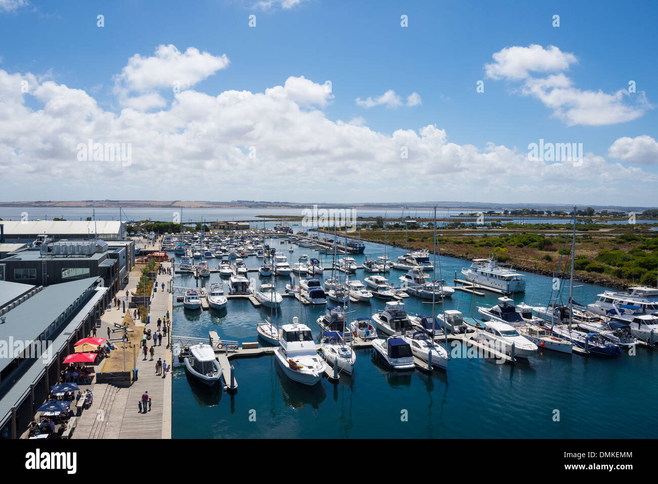 Queenscliff marina Stock Photo
