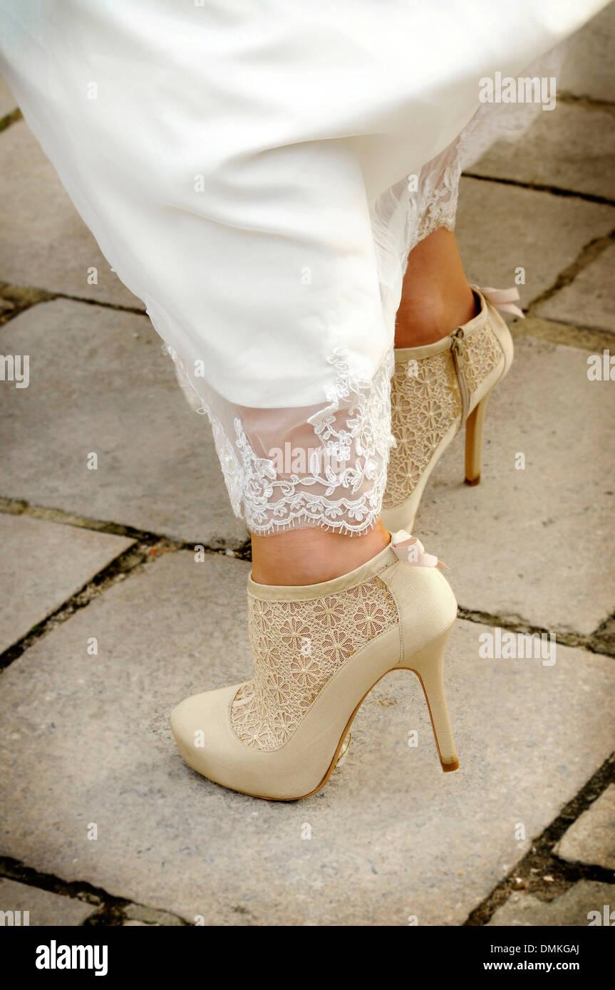 Those wedding shoes Stock Photo